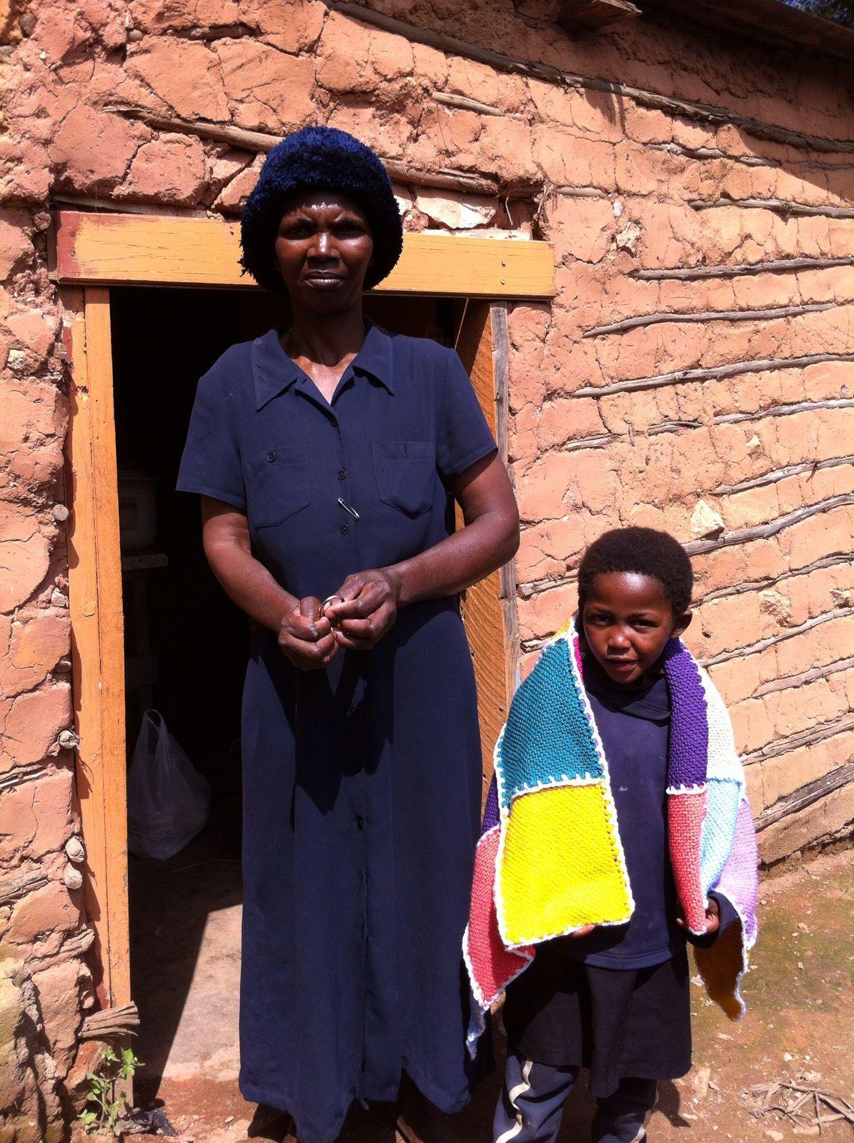 Nokthula en haar moeder